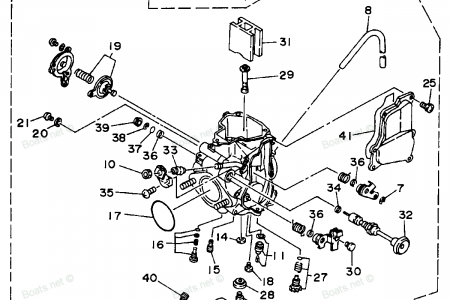 Diagram Of Yamaha Atv Parts 2004 Big Bear 400 4X4 Yfm40Fs