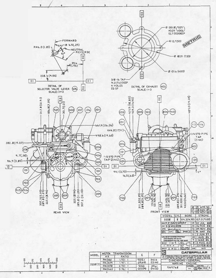 Caterpillar Diesel Engine Diagrams