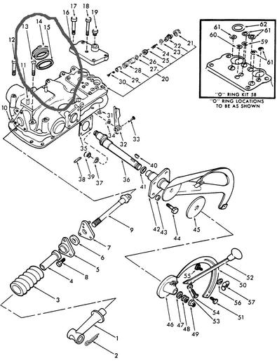 ford 4000 tractor pto diagram