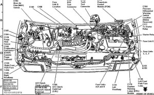 Ford 4 6 Engine Parts Diagram Ford Wiring Diagram For Cars in 1994 Ford Ranger Parts Diagram