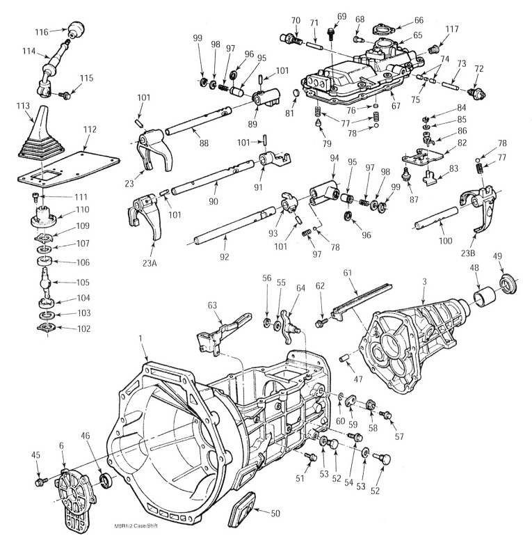 1999 Ford Ranger Drivetrain Diagram. Ford. Auto Parts