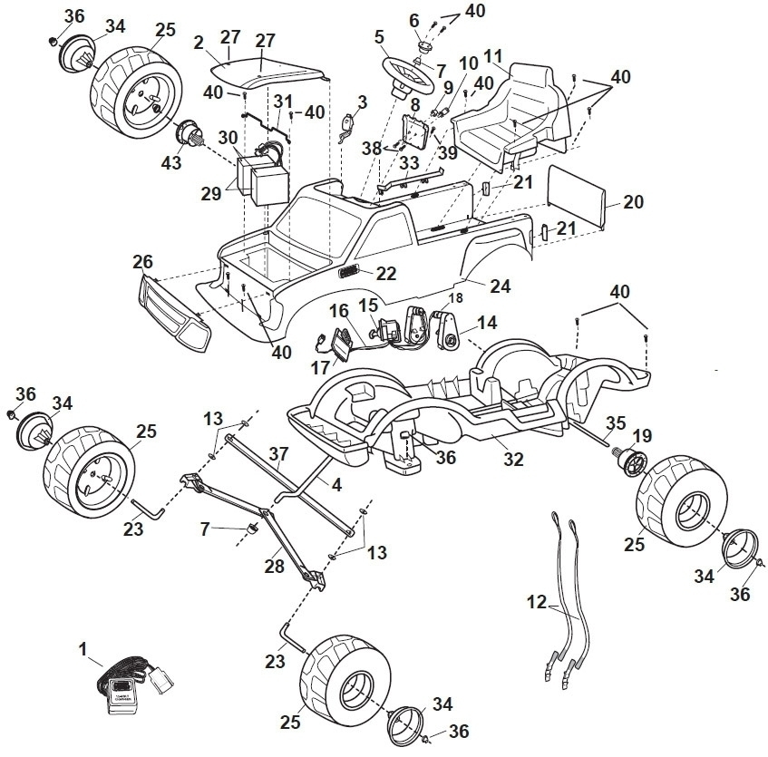 1996 Ford F 150 Fuse Box Diagram Also 1996 Ford F 150 Wiring Diagram