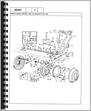 Ford 3600 Tractor Parts Diagram | Automotive Parts Diagram