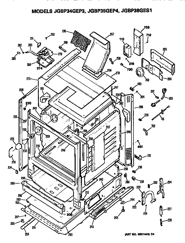 ge electric stove wiring diagrams