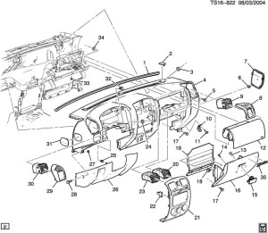 2005 Chevy Silverado Parts Diagram | Automotive Parts
