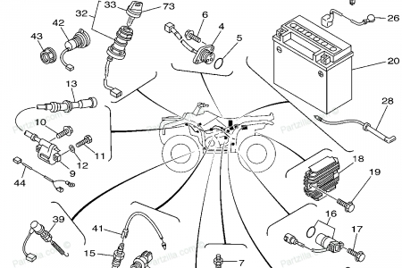 Wiring Diagram: 34 Yamaha Rhino 660 Parts Diagram
