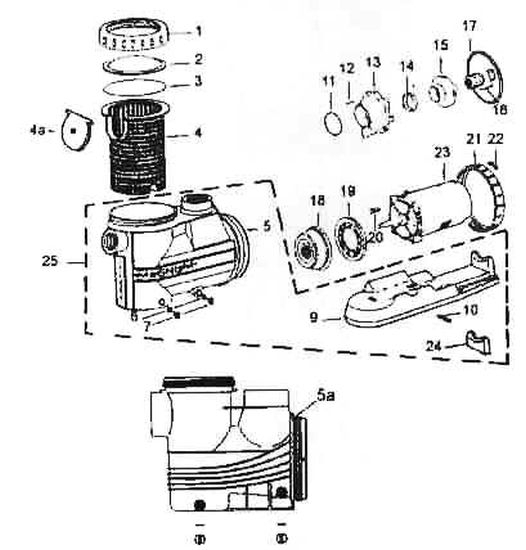 Eagle Automotive Motor diagram
