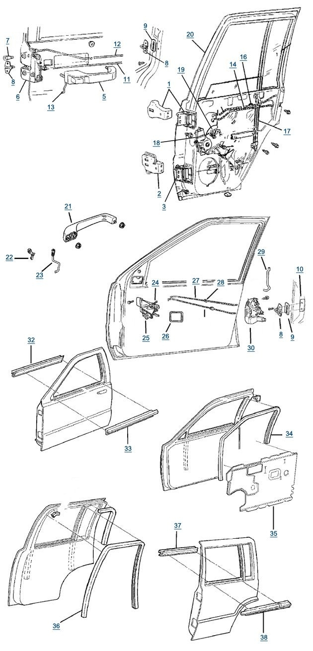 2002 jeep grand cherokee window diagram