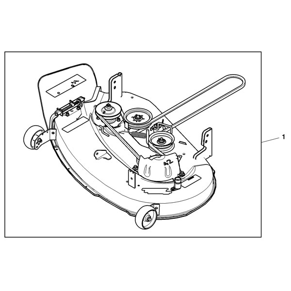 John Deere Complete Inch Mower Deck Bm Pertaining To John Deere Z Parts Diagram on 97 Acura Cl Radio Wire Diagram