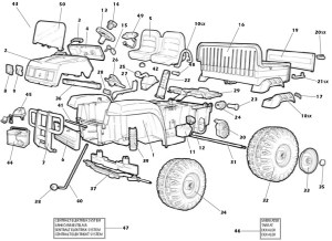 John Deere Gator Parts Diagram | Automotive Parts Diagram