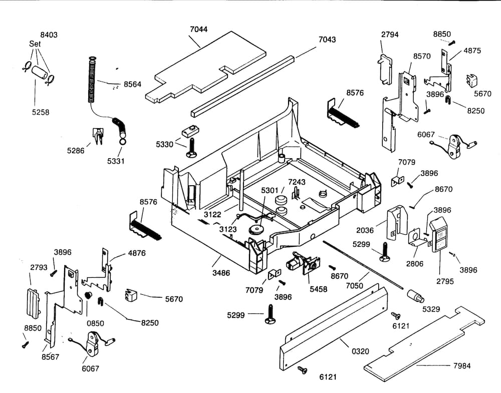 Sears P N 665 13969k010 Wiring Diagram 66513593k600