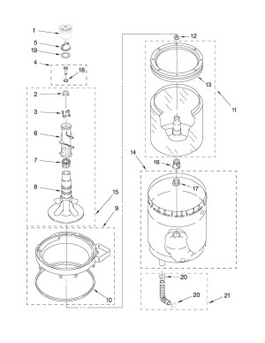 Kenmore 90 Series Washer Parts Diagram | Automotive Parts