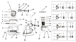 Intex Pool Pump Parts Diagram | Automotive Parts Diagram