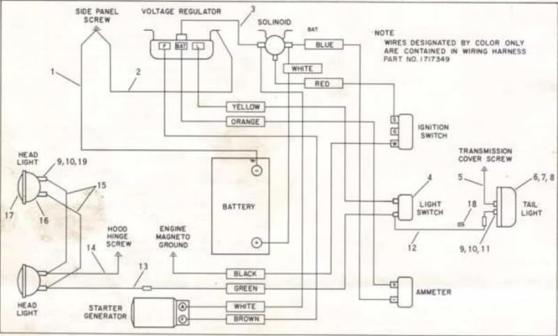 ford starter wiring diagram 2310 tractor ford 3600 diesel