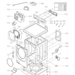 Lg Front Load Washer Parts Diagram Suzuki Hayabusa Wiring | Automotive Images