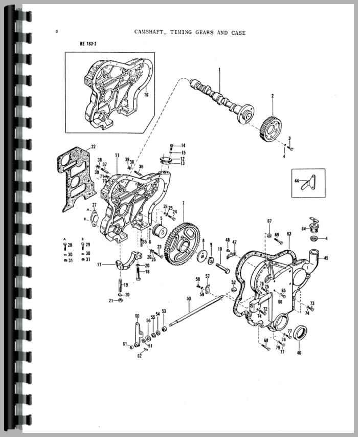 Diagrams Wiring : Massey Ferguson 135 Wiring Diagram