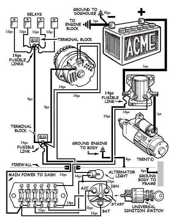 Massey Tractor Alternator Wiring Diagram