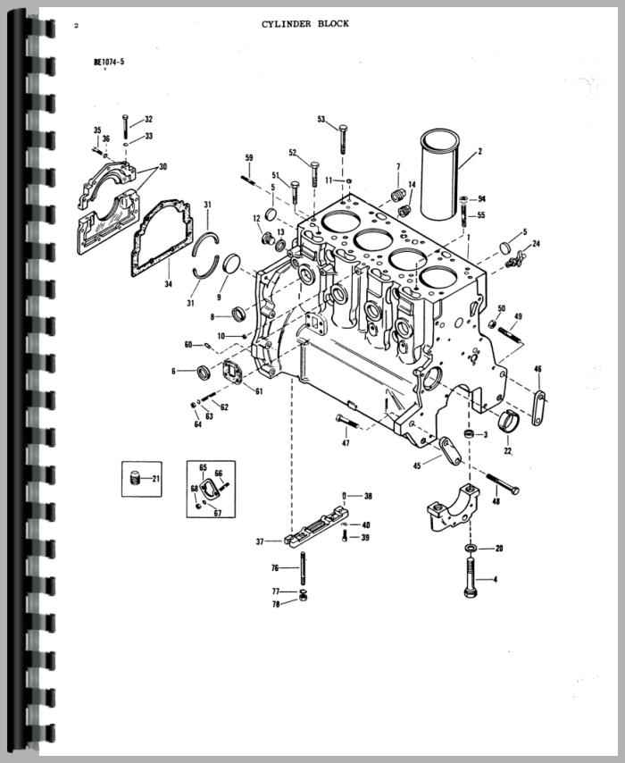 Massey Ferguson 165 Tractor Parts Manual with regard to