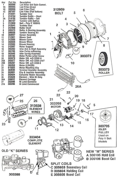 Maytag Dryer Parts Diagram : 26 Wiring Diagram Images