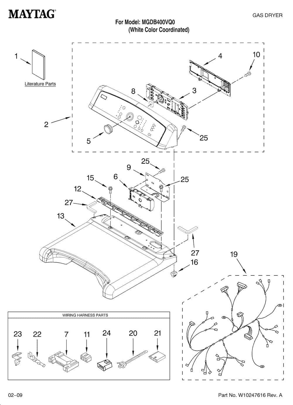 Wire Diagrams Frigidaire Dryer : 30 Wiring Diagram Images