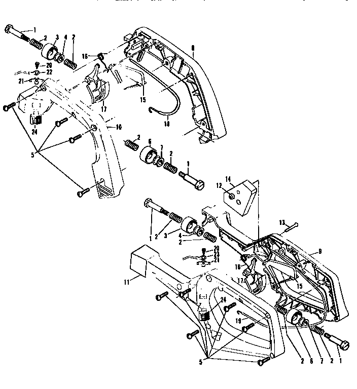 Chainsaw Engine Diagram