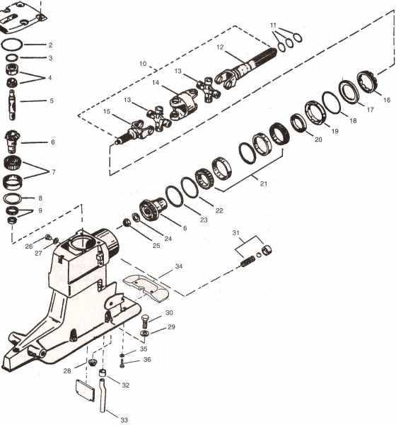 Mercruiser Parts I Need Help Page regarding Bravo 1