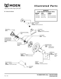 Moen Shower Valve Parts Diagram | Automotive Parts Diagram ...