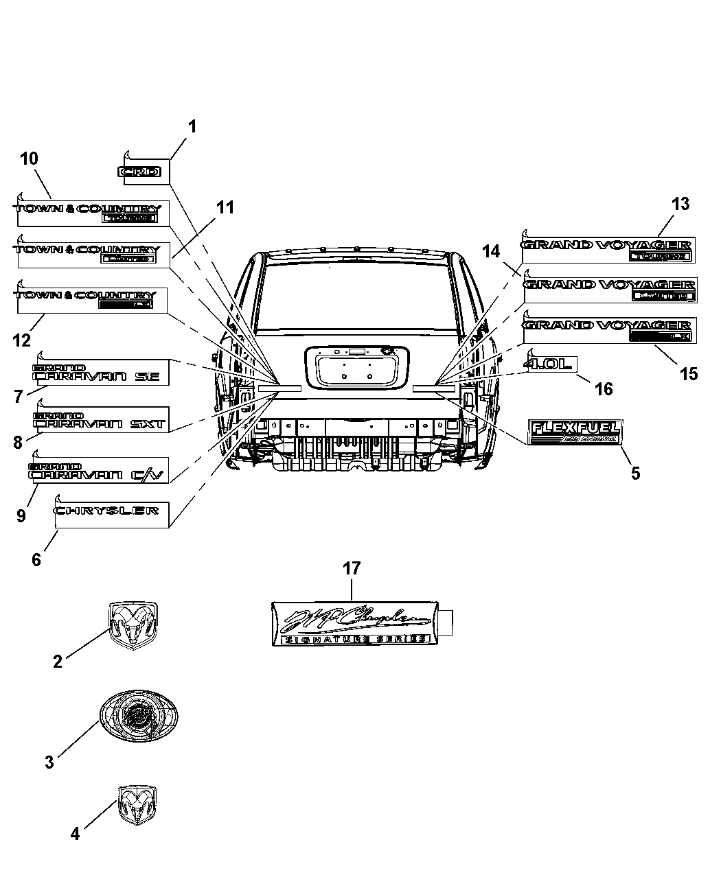 chrysler town and country parts diagram free circular arrow template 2008 automotive