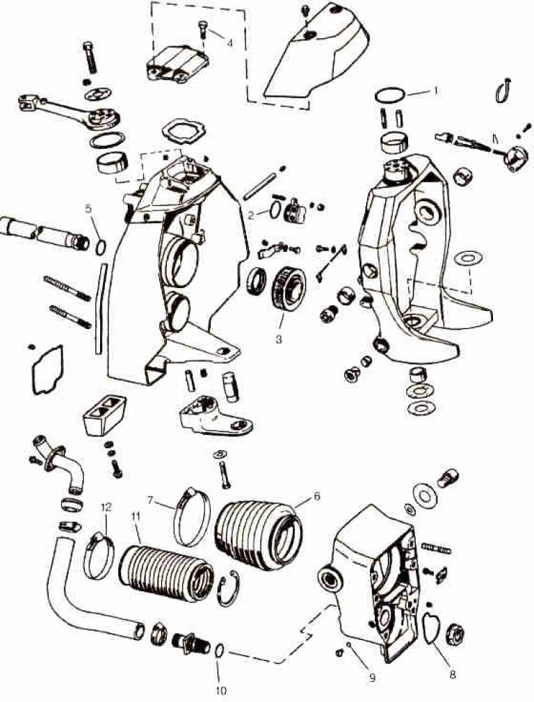 Omc Parts Drawings * Outdrive Repair Help * Videos with