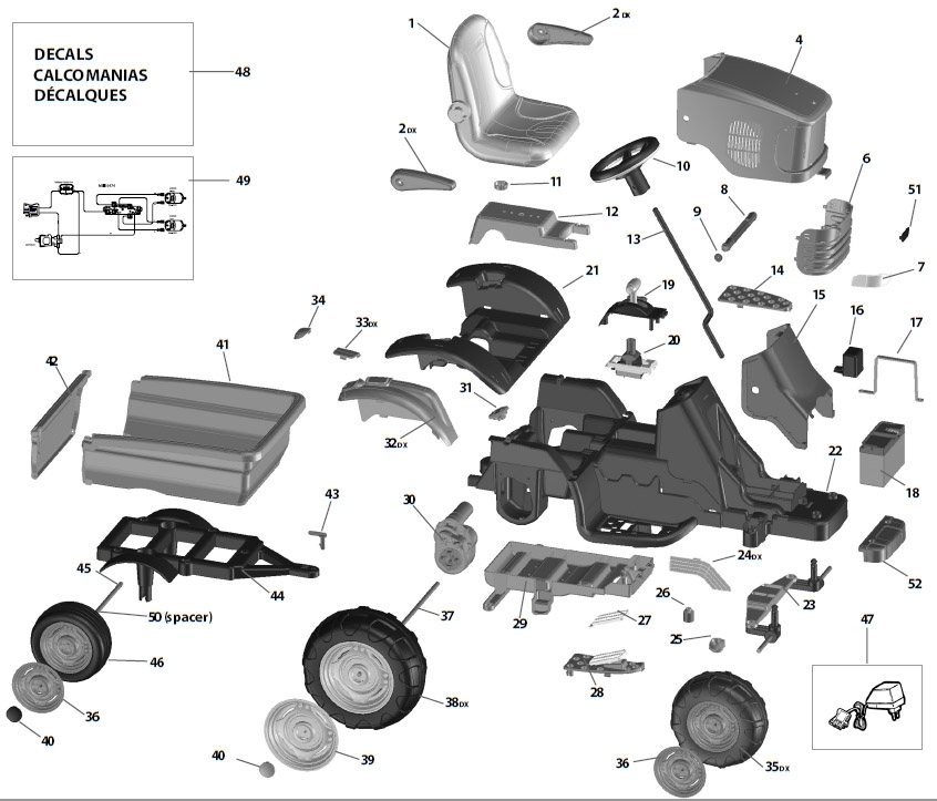 Astounding John Deere 790 Parts Diagram Images Best Image Wire