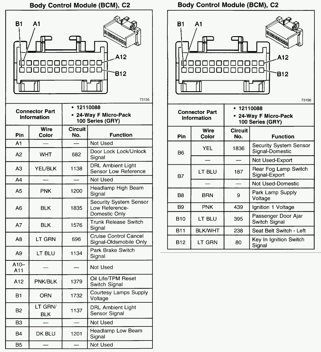 Pontiac Grand Prix Parts Diagram