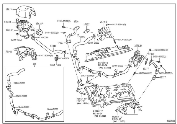 1994 toyota 4runner engine diagram