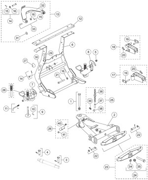 Western Snow Plow Parts Diagram | Automotive Parts Diagram