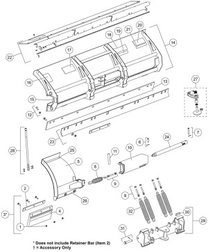 Western Snow Plow Parts Diagram | Automotive Parts Diagram