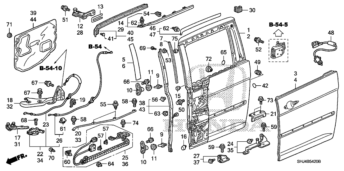 2005 Honda Odyssey Sliding Door Wiring Diagram : 46 Wiring