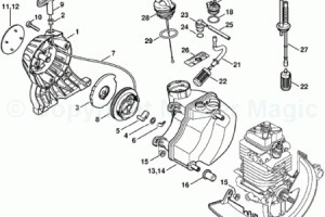 Stihl Fs 250 Parts Diagram | Automotive Parts Diagram Images