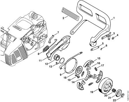 036 Stihl Chainsaw Parts Diagram Images