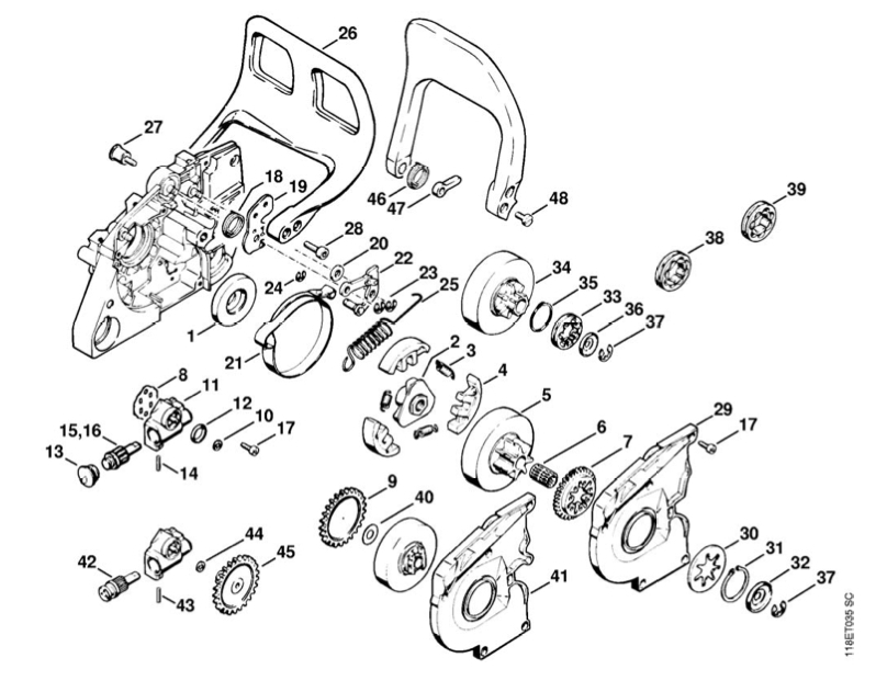 Stihl Ms290 Parts Diagram