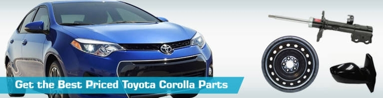 Toyota Corolla Parts Catalog Auto Parts Diagrams