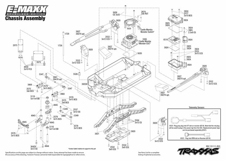 traxxas slash wiring diagram
