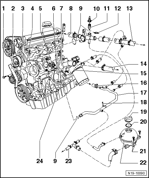 2007 Volkswagen Rabbit Parts Diagram. Volkswagen. Auto