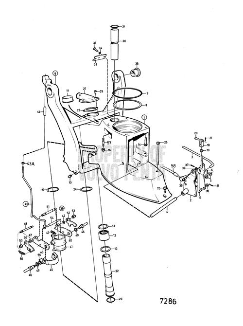 Volvo Penta Outdrive Parts Diagram As Well Volvo Penta 270