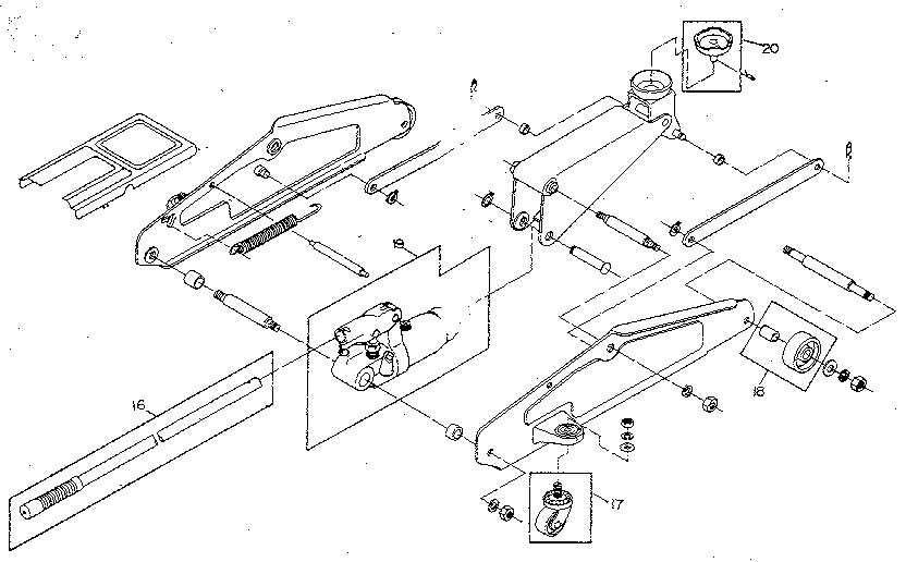 Lincoln 93642 Jack Parts Diagram. Lincoln. Auto Wiring Diagram