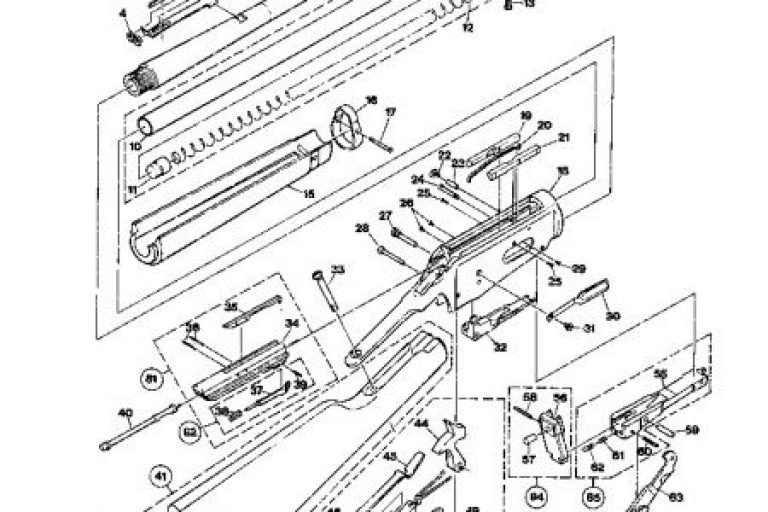 Winchester Model 94 Parts Diagram Car Tuning Winchester