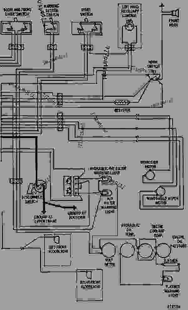 caterpillar diesel engine diagram
