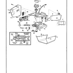 Craftsman Garage Door Opener Wiring Diagram Cat5 Jack Parts Automotive