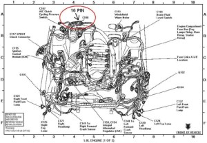 1998 Ford Explorer Engine Diagram | Automotive Parts