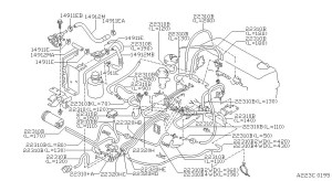 1997 Nissan Pickup Engine Diagram | Automotive Parts