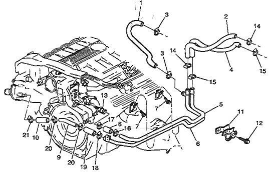 cadillac engine coolant auto electrical wiring diagram North Star 4.6L Engine Diagram cadillac engine coolant
