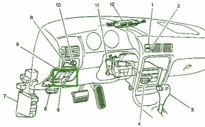 1999 Jeep Grand Cherokee Engine Diagram | Automotive Parts
